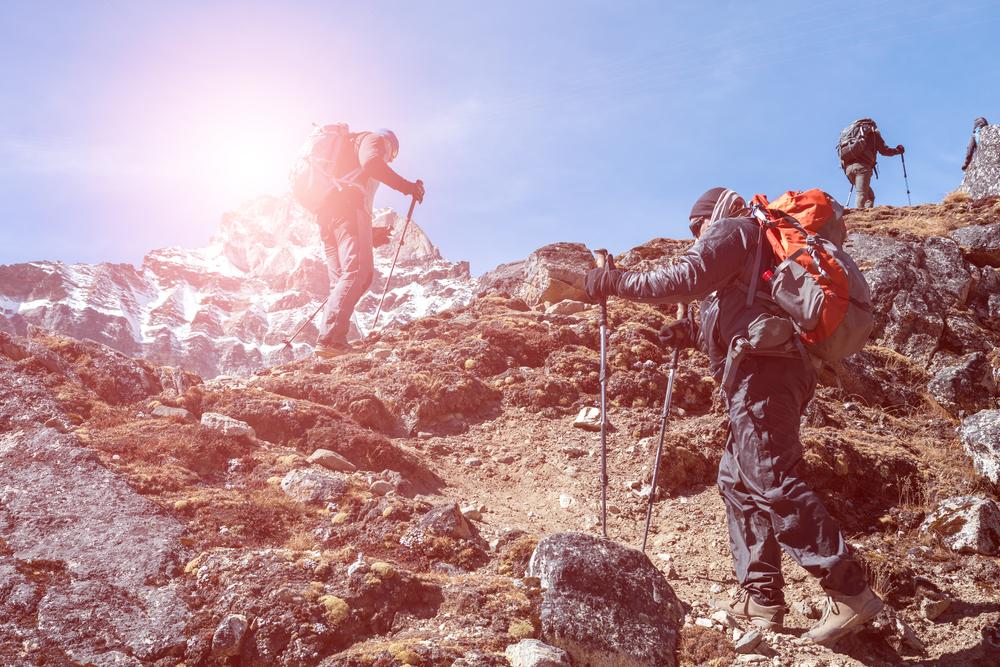actividades de escalada en la empresa